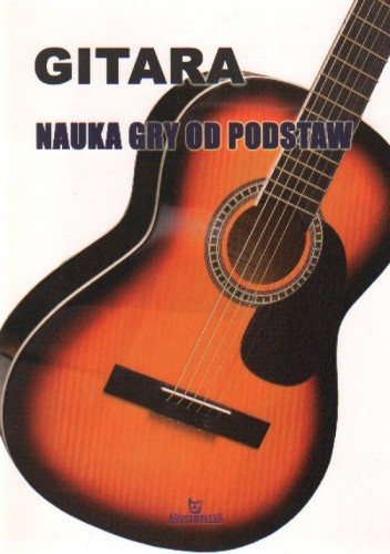 Okładka książki Gitara Nauka gry od podstaw