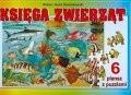 Okładka książki Księga zwierząt + 6 plansz - PUzzLE