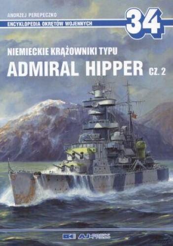 Okładka książki Admirał Hipper cz.2. Niemiecki krążownik