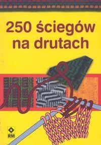 Okładka książki 250 ściegów na drutach