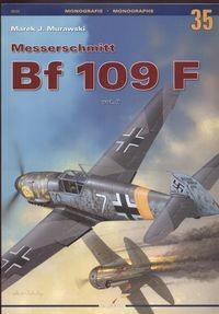 Okładka książki Messerschmitt Bf 109 F