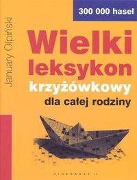 Okładka książki Wielki leksykon krzyżówkowy dla całej rodziny