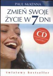 Okładka książki zmień swoje życie w 7 dni + CD