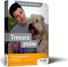 Okładka książki Tresura psów.  I kto tu kogo prowadzi na smyczy?