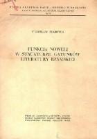 Funkcja noweli w strukturze gatunków literatury rzymskiej