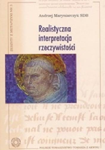 Okładka książki Realistyczna interpretacja rzeczywistości