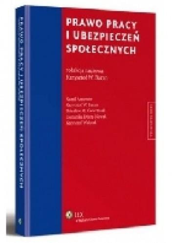 Okładka książki Prawo pracy i ubezpieczeń społecznych