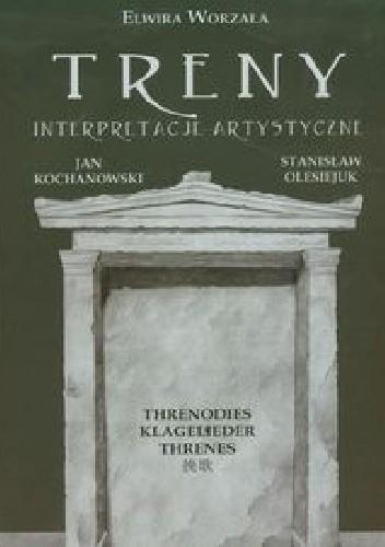 Okładka książki Treny Interpretacje artystyczne