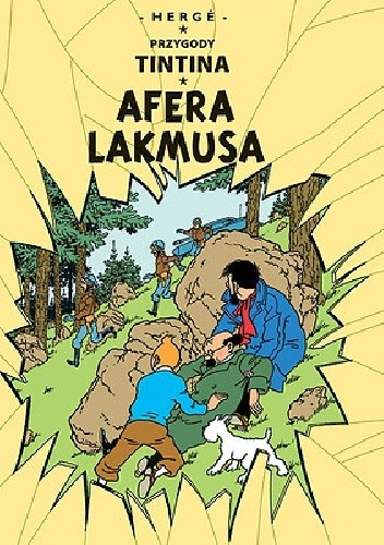 Okładka książki Przygody Tintina 18 - Afera Lakmusa