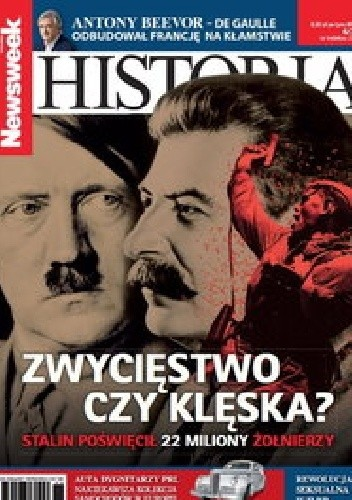 Okładka książki Newsweek Historia Nr 6/2015