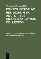 Fontes historiae religionis slavicae