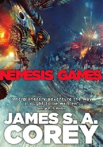 Okładka książki Nemesis Games