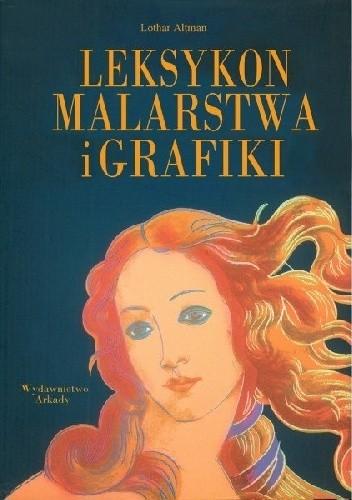 Okładka książki Leksykon malarstwa i grafiki