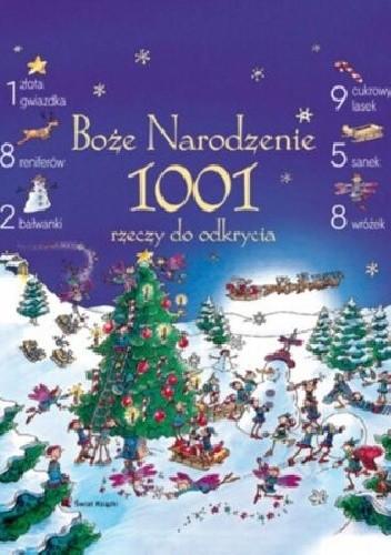Okładka książki Boże Narodzenie 1001 rzeczy do odkrycia
