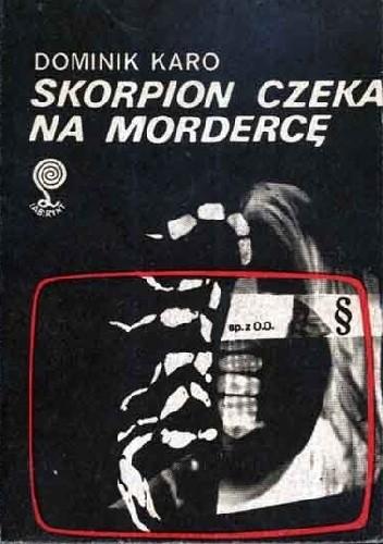 Okładka książki Skorpion czeka na mordercę