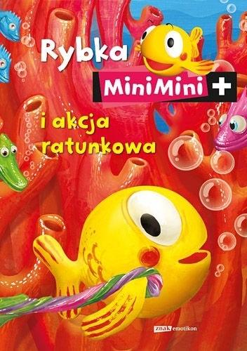 Okładka książki Rybka MiniMini i akcja ratunkowa