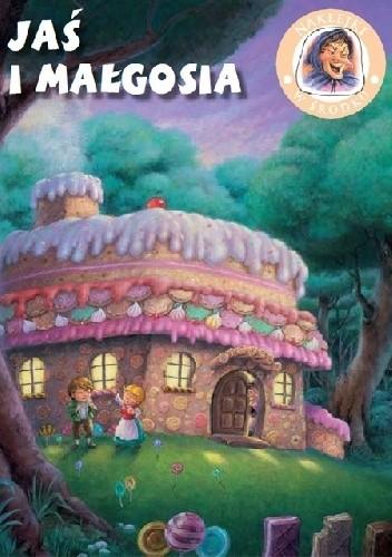 Okładka książki Jaś i Małgosia. Bajeczki z naklejkami