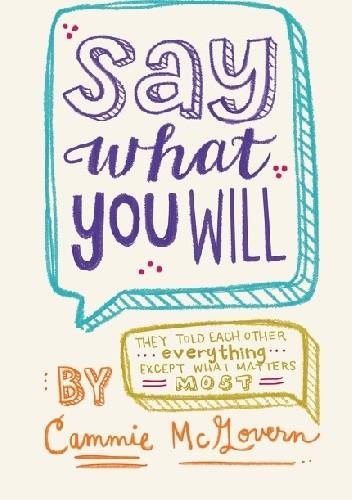 Okładka książki Say what you will