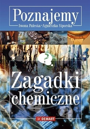 Okładka książki Zagadki chemiczne