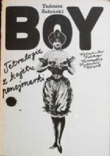 Okładka książki Tetralogia z kajetu pensjonarki