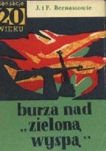 """Okładka książki Burza nad """"Zieloną Wyspą"""""""