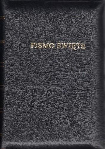 Okładka książki Pismo Święte Starego i Nowego Testamentu (Biblia Warszawska)