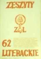 Zeszyty Literackie nr 62 (2/1998)