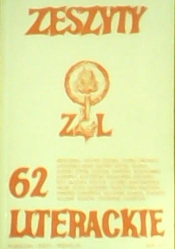 Okładka książki Zeszyty Literackie nr 62 (2/1998)