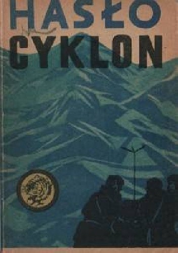 Okładka książki Hasło Cyklon