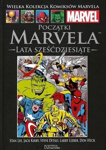 Okładka książki Początki Marvela: Lata sześćdziesiąte