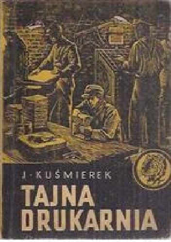 Okładka książki Tajna drukarnia