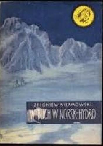 Okładka książki Wybuch w Norsk-Hydro