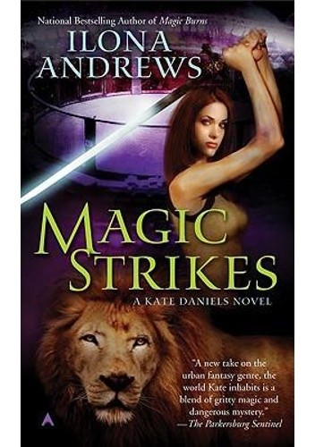 Okładka książki Magic Strikes