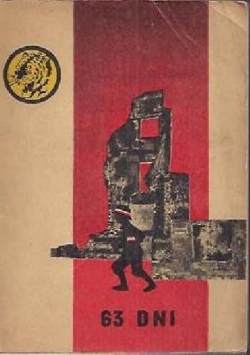 Okładka książki 63 dni