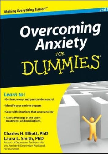 Okładka książki Overcoming Anxiety For Dummies