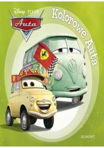 Okładka książki Auta. Kolorowe auta