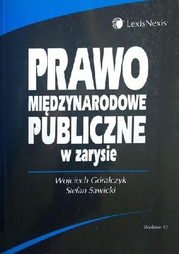 Okładka książki Prawo międzynarodowe publiczne w zarysie