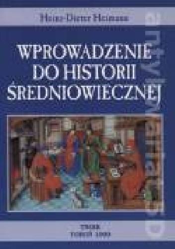 Okładka książki wprowadzenie do historii średniowiecznej