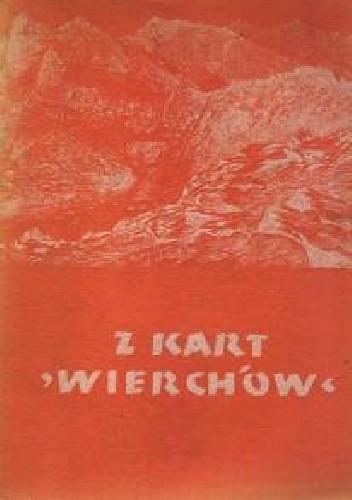 """Okładka książki Z kart """"Wierchów"""""""