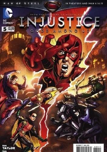 Okładka książki Injustice: Gods Among Us #5