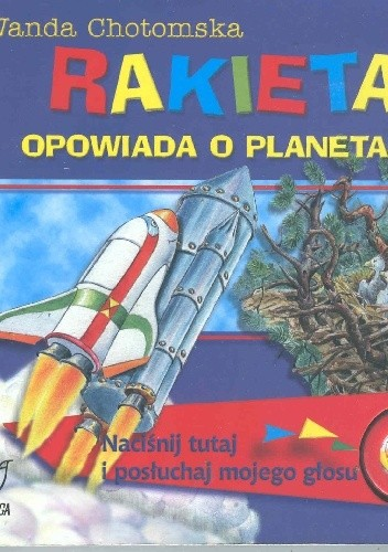 Okładka książki Rakieta opowiada o planetach