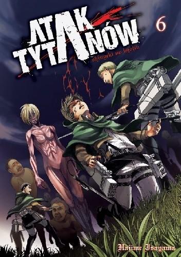 Okładka książki Atak Tytanów tom 6