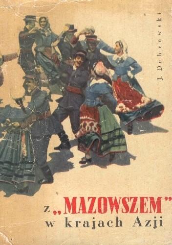 """Okładka książki Z """"Mazowszem"""" w krajach Azji"""
