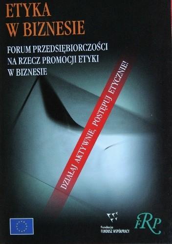Okładka książki Etyka w biznesie