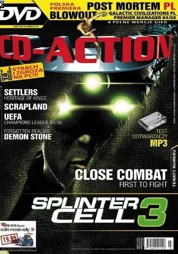 Okładka książki CD-Action 03/2005