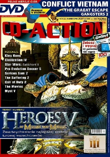 Okładka książki CD-Action Numer Specjalny 03/2005