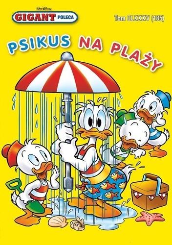 Okładka książki Gigant 8/2015: Psikus na plaży