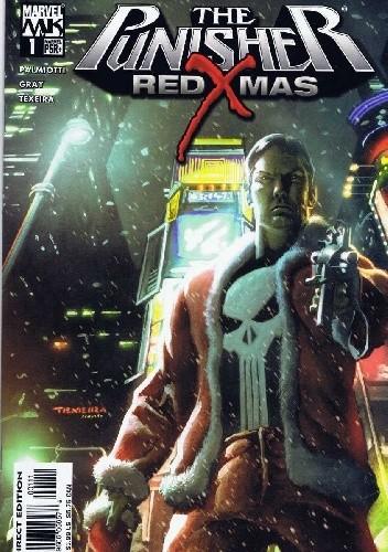 Okładka książki The Punisher: Red X-Mas