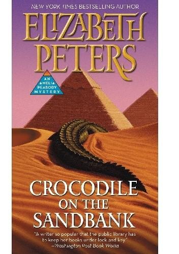 Okładka książki Crocodile on the Sandbank