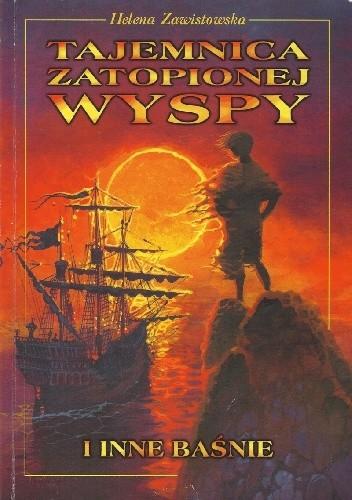 Okładka książki Tajemnica Zatopionej Wyspy